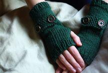 Ganchillo Mitones Guantes crochet / Inspiración. Mitones y Guantes realizados a ganchillo crochet