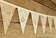 Sweet 16th Birthday  / Rustic Country Distressed Family Style Italian Food Lemonade Stand Bunting Banners