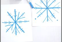 snowflakes game kids