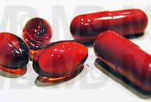 Anti-Aging Pills / Longevity Pill nowadays and future. Nice shaped and colored pills and tablets. Pills Art Photography. Drugs as Supplements.
