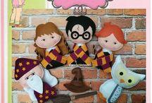 Quiet book Harry Potter