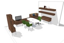 Private Office Thought Starters / Ideas for private office designs from Coalesse.