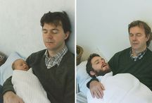 Photo recreation / Photos of then and now. #Funny stuff.