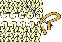 Techniques de tricot