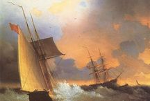 Ship - Sailboot / Ship and Sailboot themed Landscape paintings and photos from famous masters. #art, #canvas, #design, #painting, #print, #poster, #decoration