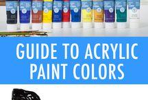 Acrylic Painting Ideas & Inspiration