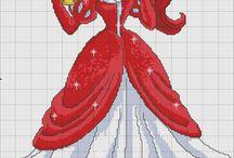 Disney Arielle Cross Stitch