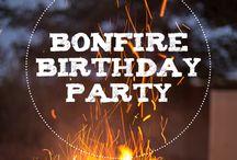 Bonfire Birthday