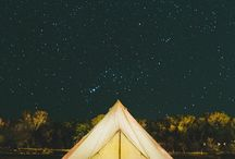 Camping by night / Falling in love with this romantic camps, during nighttime