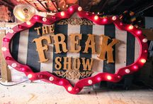 Vintage Freak Shows and Circus