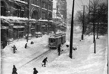Montréal, photographies d'époques
