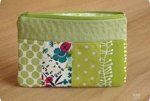 Clutch/pouch patchwork