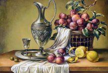 Meyveler Natürmort