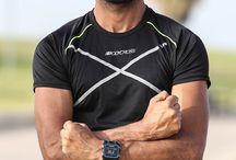 BodyCross Running Men / Vêtements Homme pour la pratique du running.