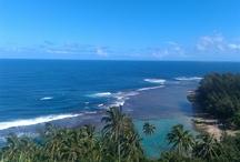 Favorite Places & Spaces / Ke`e beach Kauai, Hawaii  / by Cathy Coffman