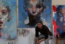 Ryan Hewett / Schilderijen