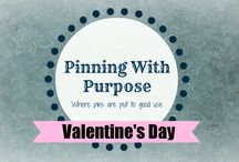 Valentine's Day (PWP) / Hugs and kisses from Pinning with Purpose.