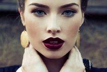 maquillaje y peinado invierno
