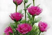 Harisnya virágok.