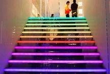 RGB - Coloured light / Random Colourful Applications of Light