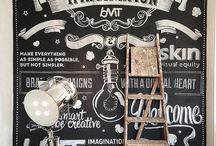 Murals-Hand Lettering / by Vessence (formerly Belmont Inc.)