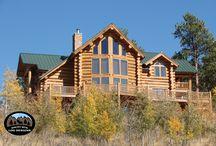 Log Home Designs ~ Rocky Mtn Log Designs / Wayne Brunner Log Home Designs & Home Designs