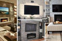 Idées déco pour le séjour / Le plein d'idées pour décorer votre séjour! Laissez-nous vous inspirer...