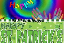 St. patty's Day & Holi Nail Art Challenge / Find some interesting manicures by our facebook group members for holi and st.patty's day. Click on pics to read their post