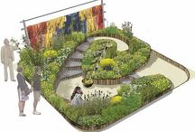 Flower Show Garden Ideas / Show garden ideas from events such as RHS Chelsea Flower Show etc.