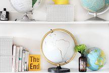 Globes / by Sharon Kuplack