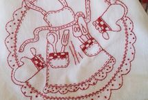 Redwork & Sunbonnet Sue / by Grandma's Pearl
