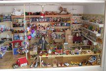 Poppenhuizen-Speelgoedwinkel - eigen werk