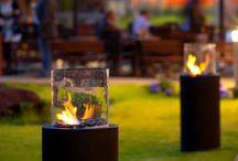 Outdoor&Indoor Fireplaces / Biofireplaces indoor and outdoor