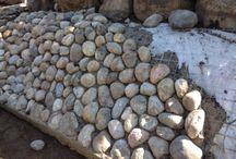 sten i sluttning