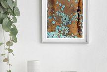 Digital Art Prints: Botanical