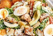 Eten: salades