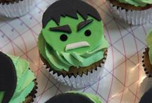 Incredible Hulk Theme Birthday
