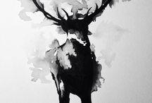 Akvarell/Akryl
