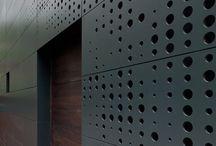 facade / screen
