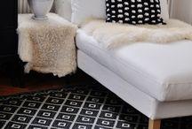 Black & White / Decorating with black & white