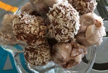 Snack / Coconut/chocolate truffels