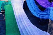 Art - Education - Dyeing fabric