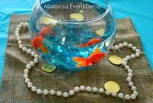 Mermaid and Sea Theme Parties / Ideas and inspiration