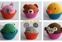 Crochet cupcake animal