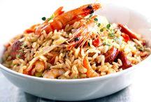 pâtes, riz,...