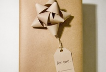 gift wrapping ideas / by Janice Sahutsky