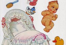 Papier Dolls - baby