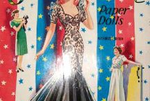 Paper dolls and Coloring Books