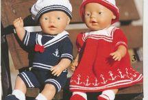 Вяжем куклам... / вязание для кукол