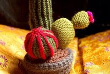 Crochet and plants you can't kill.